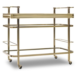 Highland Park Bar Cart | Hooker Furniture