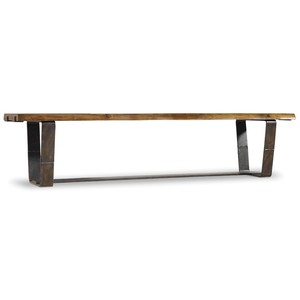 Live Edge Bench | Hooker Furniture