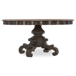 Arabella Round Pedestal Dining Table | Hooker Furniture