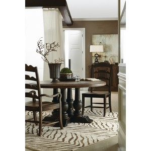Applewhite Round Dining Table | Hooker Furniture
