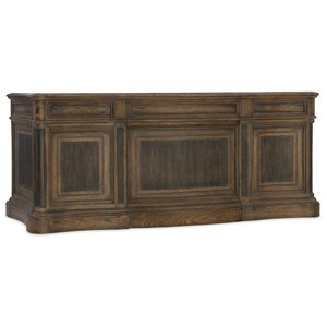 St. Hedwig Executive Desk | Hooker Furniture