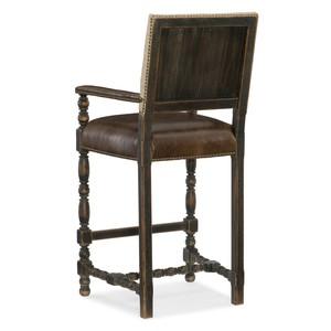 Comfort Barstool | Hooker Furniture