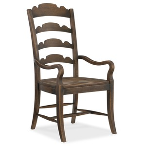 Twin Sisters Ladderback Armchair