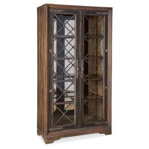 Sattler Display Cabinet | Hooker Furniture