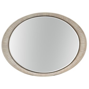 Elixir Oval Accent Mirror | Hooker Furniture
