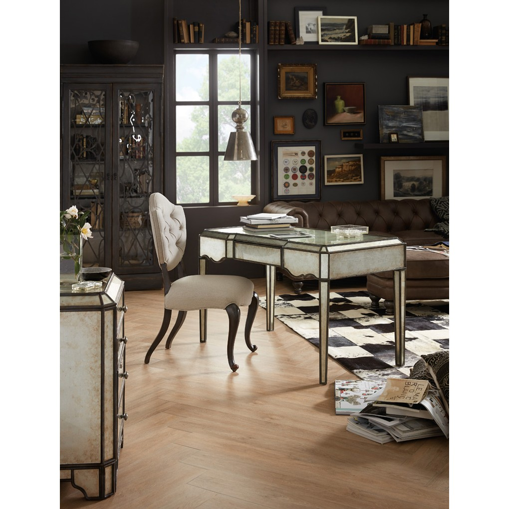 Arabella Mirrored Writing Desk | Hooker Furniture