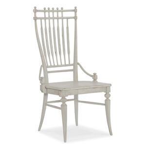 Arabella Windsor Side Chair | Hooker Furniture
