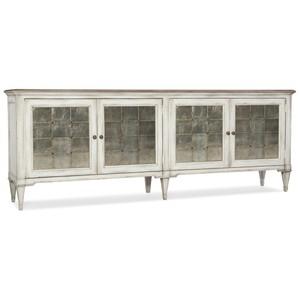 Arabella Four-Door Credenza | Hooker Furniture