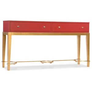Lady in Red Console