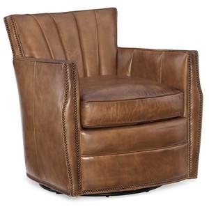 Carson Swivel Club Chair   Hooker Furniture