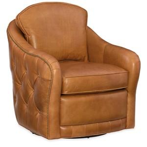 Hilton Swivel Club Chair   Hooker Furniture