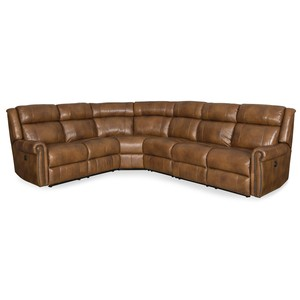 Esme Four-Piece Power Sectional | Hooker Furniture