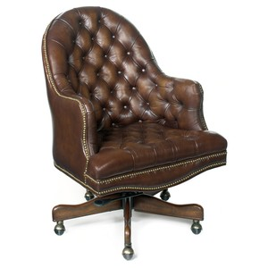Blarney Executive Swivel Tilt Chair | Hooker Furniture