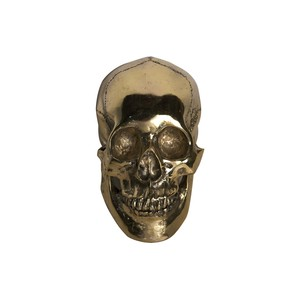 Large Skull in Brass