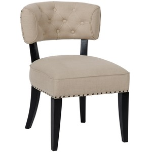 Alena Dining Chair | Noir
