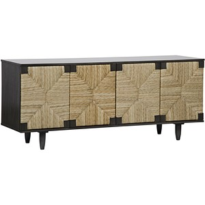 Brook Four Door Sideboard | Noir