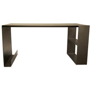 Metal Desk | Noir