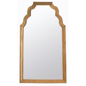 Teak Floor Mirror | Noir