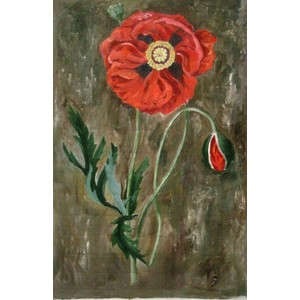 Flower Art | Noir