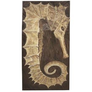 Sea Horse Art | Noir