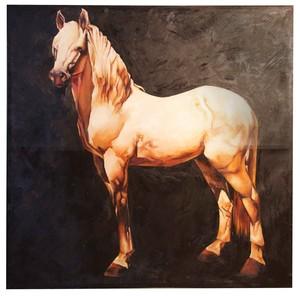 Golden Horse Art | Noir