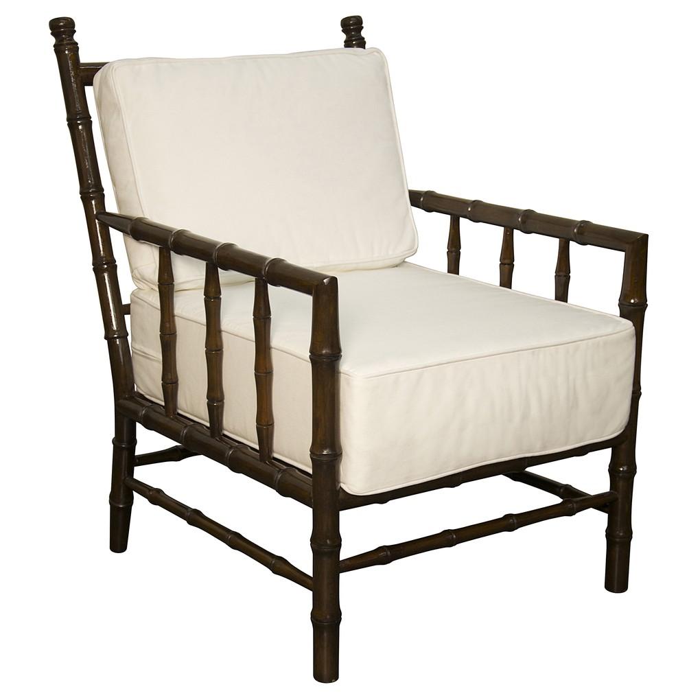 Bamboo Relax Chair | Noir