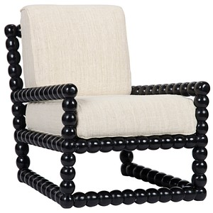 Lorde Lounge Chair | Noir