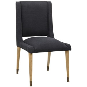Lino Dining Chair | Noir