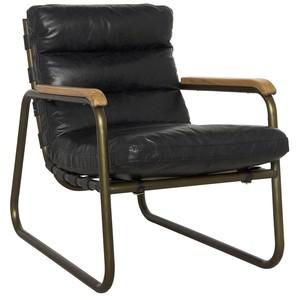 Cowhide Armchair | Noir