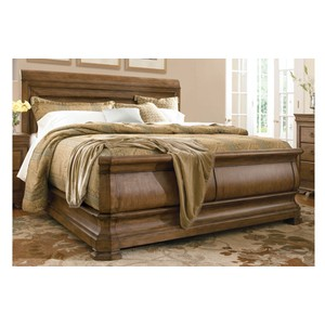Louie P's King Sleigh Bed | Universal Furniture