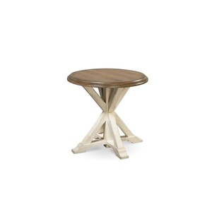 Curated Garden Round End Table