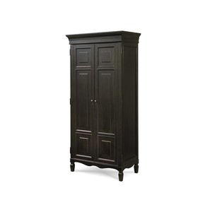 Tall Cabinet Armoire in Midnight