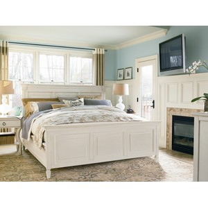 Summer Hill Bedroom Set in Cotton | Universal Furniture