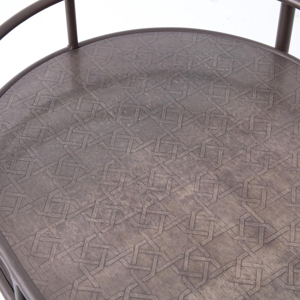 Teague Oval Bar Cart | Four Hands