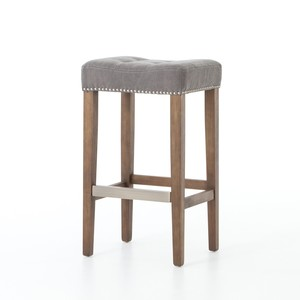 Dark Moon Sean Bar Stool w/ Kickplate | Four Hands