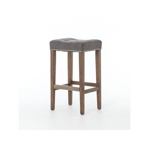 Dark Moon Sean Barstool with Kickplate