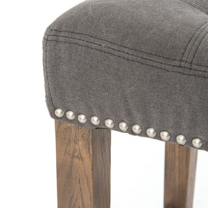 Dark Moon Sean Counterstool with Kickplate | Four Hands