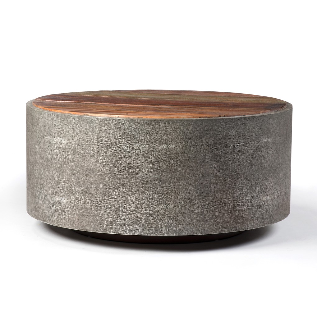 Crosby Round Coffee Table | Four Hands