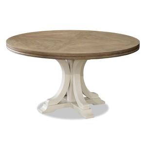 Moderne Muse Pedestal Dining Table | Universal Furniture