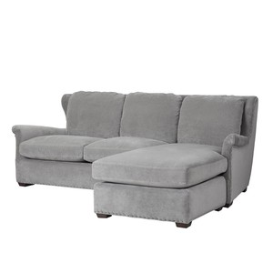 Haven Sofa Chaise with Ottoman | Universal Furniture
