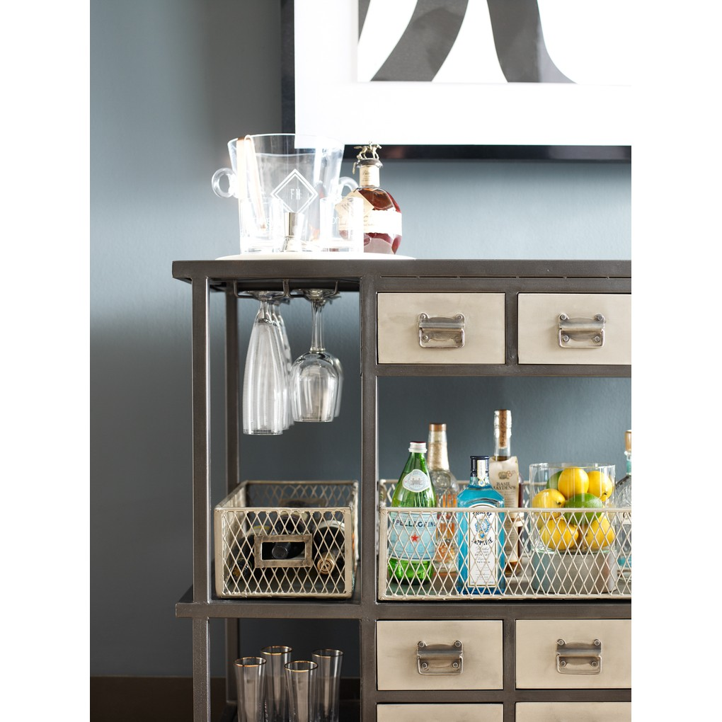 Industrial Bar Cart | Four Hands