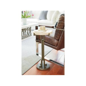 Synchronicity Metal Chairside Table