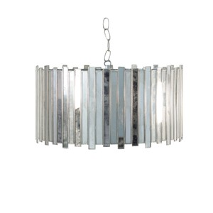 Faceted Chandelier