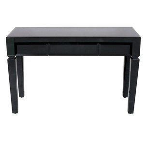 Black Glass Desk | Worlds Away