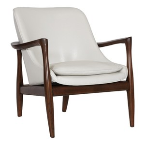 Curved Back Beech Wood Chair