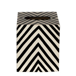 Kleenex Box Zebra | Worlds Away