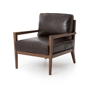 Laurent Wood Frame Accent Chair | Four Hands