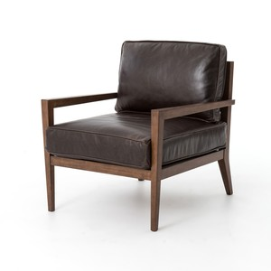 Laurent Wood-Frame Accent Chair | Four Hands