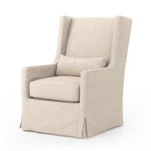 Swivel Wing Chair | Four Hands
