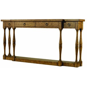 Sanctuary Four-Drawer Thin Console